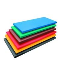 Tabla Corte Polietileno Hd Gn 1/1X2 Rojo - Lacor 60478