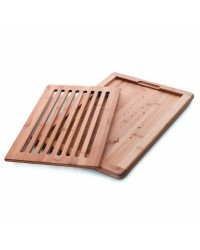 Tabla Corte Pan Bambu 40X30X2 Cm - Lacor 60487