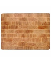 Tabla Corte Rubber Wood 330X250X40 Mm - Lacor 60488