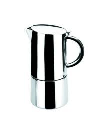 Cafetera Express Moka 6 Tazas Inox 18/10 - Lacor 62056