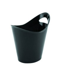 Cubo Enfriabotellas Negro Doble 2 Asas  - Lacor 62368