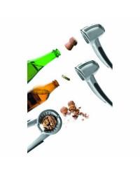 Cascanueces + Abrebotellas Champan Zamak - Lacor 63017