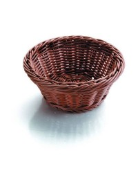 Cesta De Pan Redonda Marron 26X26X8 - Lacor 63874