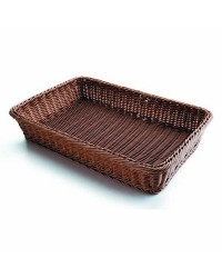 Cesta Pan Rectangular Marron 53X33,5X9 - Lacor 63890