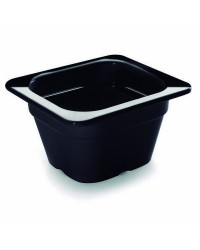 Cubeta Negra Melamina Gn 1/6 176X162X65 - Lacor 66665J