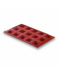 Molde Silicona Piramide 15 Cavidades - Lacor 66821