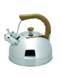 Cafetera Silbante Inox 3.0 Ltos.  - Lacor 68629