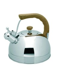 Cafetera Silbante Inox 4.0 Ltos.  - Lacor 68639