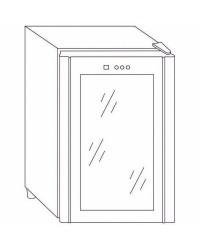 Armario Refrigerador 16 Botellas - Lacor 69071