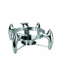Soporte Chafing-Dish Luxe Redondo - Lacor 69097