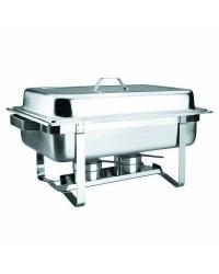 Chafing Dish Gn 1/1 Con Tapa Inox  - Lacor 69110