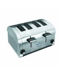 Tostadora Elec.Luxe Doble 1400W 4Ranuras - Lacor 69164