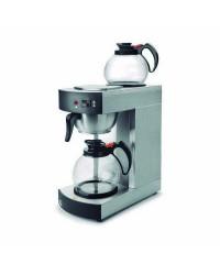 Cafetera Elec. Con 2 Jarras Cristal 2.1 Kw - Lacor 69272
